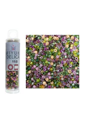 www.sayila.nl - Mix Miyuki Delica glas rocailles 11/0 1,6x1,3mm (± 1400 st.)