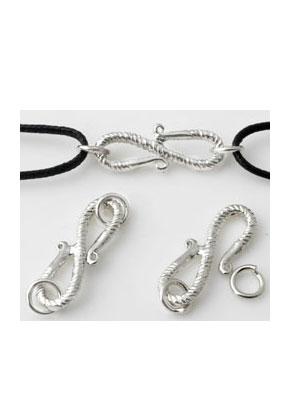 www.sayila.com - Brass hook clasps with 2 rings 29x9mm