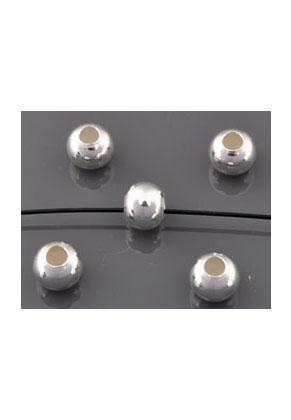 www.sayila.nl - 925 Zilveren kraal rond 5x4mm