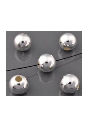 www.sayila.com - 925 Silver bead round 10x9mm