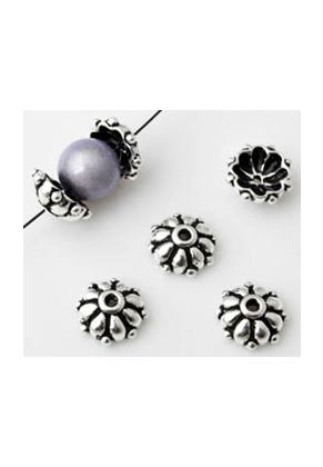 www.sayila.com - 925 Silver bead cap 9x4mm