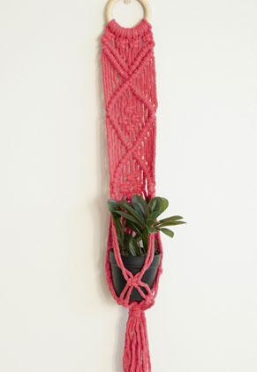 www.sayila.co.uk - Hoooked DIY macrame kit plant hanger Bali