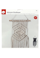 www.sayila.com - Rayher DIY crafting kit Macrame wall hanger - E01353