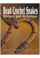 www.sayila.com - Book Bead Crochet Snakes (Adele Rogers Recklies) - E01369