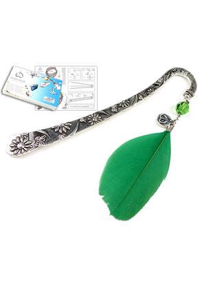 www.sayila-perlen.de - DoubleBeads Schmuckpaket Daydreamer Lesezeichen 12cm mit SWAROVSKI ELEMENTS