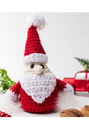 www.sayila.com - Hoooked DIY Crochet kit Santa Claus