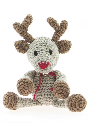 www.sayila.com - Hoooked DIY Crochet kit Reindeer Rue