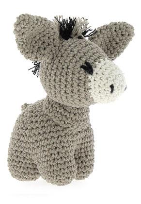www.sayila.com - Hoooked DIY Crochet kit Donkey Joe