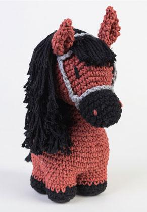www.sayila-perlen.de - Hoooked DIY Häkel-Set Pony Sienna