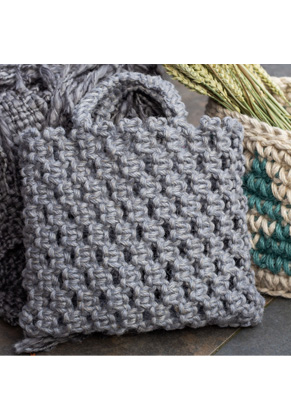 www.sayila.be - Hoooked DIY macramé pakket tas Bauru Jute