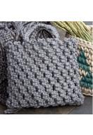 www.sayila.nl - Hoooked DIY macramé pakket tas Bauru Jute - E01480
