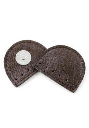 www.sayila.com - Hoooked vegan leather magnetic bag lock 55x40mm