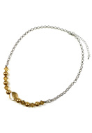 www.sayila.co.uk - DoubleBeads Jewelry Kit Sparkle Daily necklace ± 47-55cm with SWAROVSKI ELEMENTS - E01596