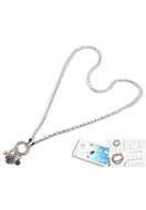 www.sayila.be - DoubleBeads Sieradenpakket Happiness halsketting ± 84cm, met SWAROVSKI ELEMENTS - E01625