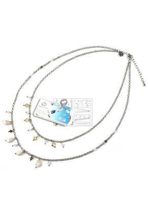 www.sayila.es - DoubleBeads Kit de Joyería To The Beach collar ± 45-53cm, con SWAROVSKI ELEMENTS