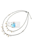 www.sayila.com - DoubleBeads Jewelry Kit To The Beach necklace ± 45-53cm, with SWAROVSKI ELEMENTS - E01628