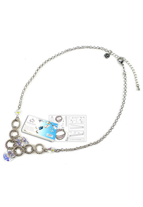 www.sayila.es - DoubleBeads Kit de Joyería Magician collar ± 54-61cm, con SWAROVSKI ELEMENTS