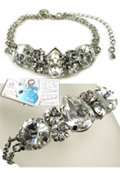 www.sayila.com - DoubleBeads Jewelry Kit Starstruck bracelet, inner size ± 19-26cm, with SWAROVSKI ELEMENTS - E01676