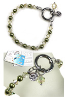 www.sayila.com - DoubleBeads EasyClip Jewelry Kit Eternal bracelet, inner size ± 18,5cm, with SWAROVSKI ELEMENTS - E01677