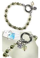 www.sayila.nl - DoubleBeads EasyClip Sieradenpakket Eternal armband, binnenmaat ± 18,5cm, met SWAROVSKI ELEMENTS - E01677