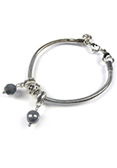 www.sayila.com - DoubleBeads Mini Jewelry Kit large-hole-style bracelet ± 18-20cm with SWAROVSKI ELEMENTS - E01865