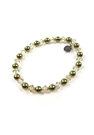 www.sayila.com - DoubleBeads Mini Jewelry Kit bracelet stretchable, inner size ± 19cm with SWAROVSKI ELEMENTS - E01876