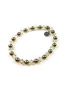 www.sayila-perles.be - DoubleBeads Mini Kit de Bijoux bracelet extensible, largeur intérieure ± 19cm avec SWAROVSKI ELEMENTS - E01876
