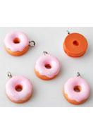 www.sayila-perlen.de - Kunststoff Anhänger Donut 17x13mm - E01895