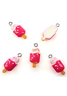 www.sayila.com - Synthetic pendants/charms ice cream 24x10mm - E01909