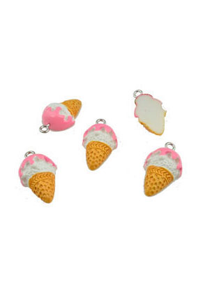 www.sayila.com - Synthetic pendants/charms ice cream 22x13mm