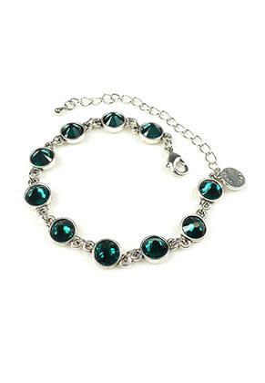 www.sayila.fr - DoubleBeads Mini Kit de Bijoux bracelet ± 17-25cm avec SWAROVSKI ELEMENTS