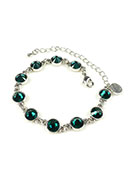 www.sayila.fr - DoubleBeads Mini Kit de Bijoux bracelet ± 17-25cm avec SWAROVSKI ELEMENTS - E01988