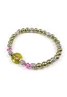 www.sayila.fr - DoubleBeads Mini Kit de Bijoux bracelet extensible, largeur intérieure ± 17cm avec SWAROVSKI ELEMENTS - E01996
