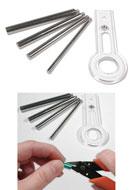 www.sayila.nl - Beadsmith EZ Jump rings buigringetjes maker 10mm - 16mm - E02016