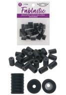 www.sayila.nl - Beadsmith Fablastic siliconen koord stoppers 10x7mm - E02020