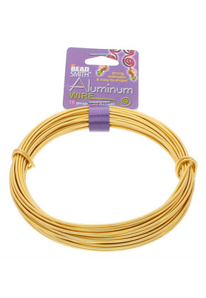 www.sayila.com - Beadsmith aluminum wire 18 gauge (1mm)