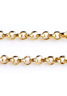 www.sayila.co.uk - Metal chain with 2mm links - E02050