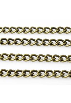 www.sayila.co.uk - Metal chain with 6x4,5mm links