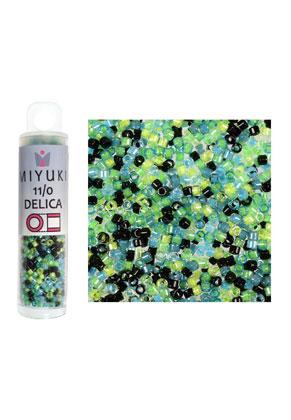 www.sayila.es - Mezcla de Miyuki Delica mostacillas/rocallas de vidrio 11/0 1,6x1,3mm (± 1400 pzs.)