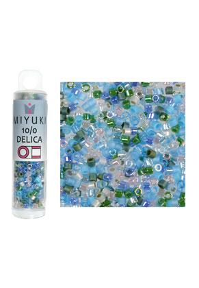 www.sayila.es - Mezcla de Miyuki Delica mostacillas/rocallas de vidrio 10/0 2,05x1,6mm (± 750 pzs.)
