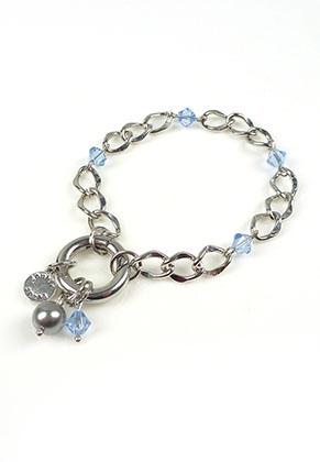 www.sayila.com - DoubleBeads Mini Jewelry Kit EasyClip bracelet ± 19,5cm with SWAROVSKI ELEMENTS