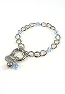 www.sayila.com - DoubleBeads Mini Jewelry Kit EasyClip bracelet ± 19,5cm with SWAROVSKI ELEMENTS - E02242