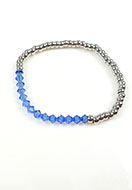 www.sayila.com - DoubleBeads Mini Jewelry Kit bracelet ± 19cm with SWAROVSKI ELEMENTS - E02258