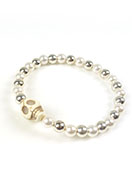 www.sayila.com - DoubleBeads Mini Jewelry Kit bracelet ± 18cm with SWAROVSKI ELEMENTS - E02277