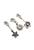 www.sayila.es - DoubleBeads Minikit de Joyería Mix & Match dijes flores (set de 3) ± 30-35mm con SWAROVSKI ELEMENTS