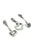 www.sayila.nl - DoubleBeads Mini Sieradenpakket Mix & Match bedels hartjes (set van 3) ± 34-38mm met SWAROVSKI ELEMENTS
