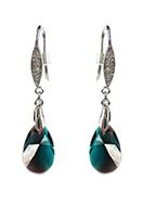 www.sayila-perles.be - DoubleBeads Mini Kit de Bijoux boucles d'oreilles de 925 argent ± 5cm avec SWAROVSKI ELEMENTS - E02534
