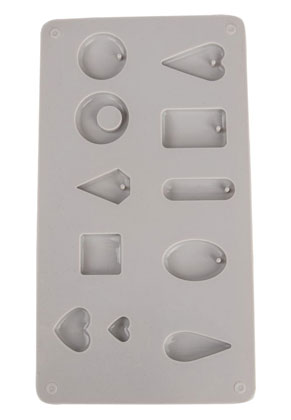 www.sayila.com - Rayher silicone moulding form for pendants