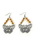 www.sayila.co.uk - DoubleBeads Mini Jewelry Kit earrings ± 7cm with SWAROVSKI ELEMENTS - E02661