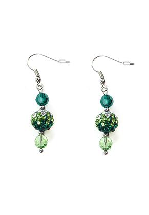 www.sayila.co.uk - DoubleBeads Mini Jewelry Kit earrings ± 4,5cm with SWAROVSKI ELEMENTS
